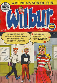 Cover Thumbnail for Wilbur Comics (Archie, 1944 series) #47