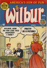Cover Thumbnail for Wilbur Comics (Archie, 1944 series) #48