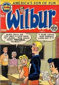Cover Thumbnail for Wilbur Comics (Archie, 1944 series) #55