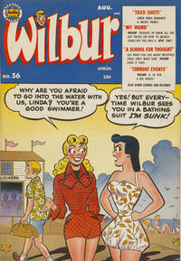 Cover Thumbnail for Wilbur Comics (Archie, 1944 series) #56
