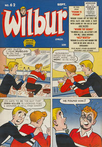 Cover Thumbnail for Wilbur Comics (Archie, 1944 series) #62