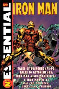 Cover Thumbnail for Essential Iron Man (Marvel, 2000 series) #2