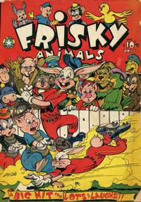 Cover Thumbnail for Frisky Animals (Star Publications, 1951 series) #46