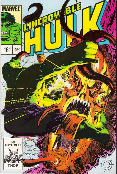 Cover for L'Incroyable Hulk (Editions Héritage, 1968 series) #161