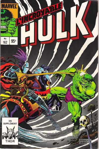Cover for L'Incroyable Hulk (Editions Héritage, 1968 series) #162