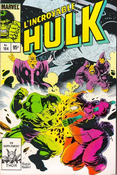 Cover for L'Incroyable Hulk (Editions Héritage, 1968 series) #164