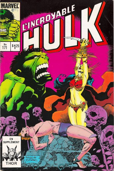 Cover for L'Incroyable Hulk (Editions Héritage, 1968 series) #171