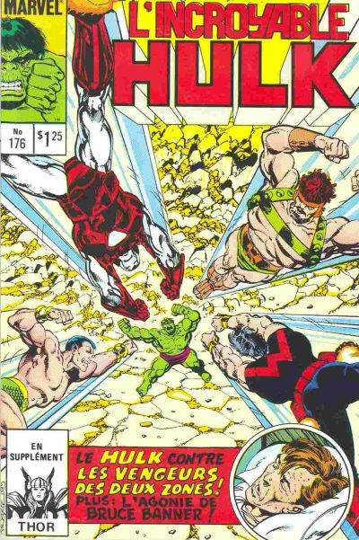 Cover for L'Incroyable Hulk (Editions Héritage, 1968 series) #176
