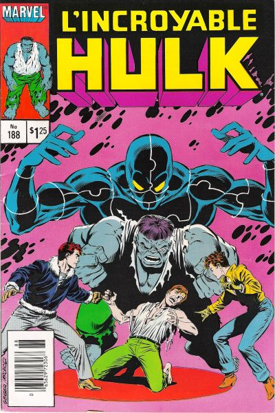 Cover for L' Incroyable Hulk (Editions Héritage, 1968 series) #188