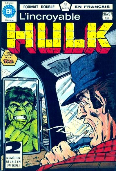 Cover for L'Incroyable Hulk (Editions Héritage, 1968 series) #96/97