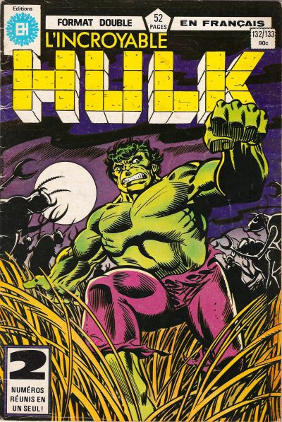 Cover for L'Incroyable Hulk (Editions Héritage, 1968 series) #132/133