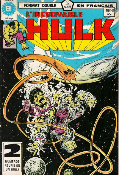 Cover for L' Incroyable Hulk (Editions Héritage, 1968 series) #140/141