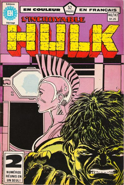Cover for L' Incroyable Hulk (Editions Héritage, 1968 series) #146/147