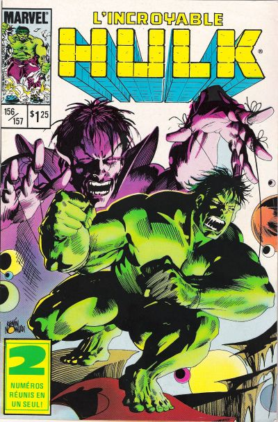 Cover for L' Incroyable Hulk (Editions Héritage, 1968 series) #156/157
