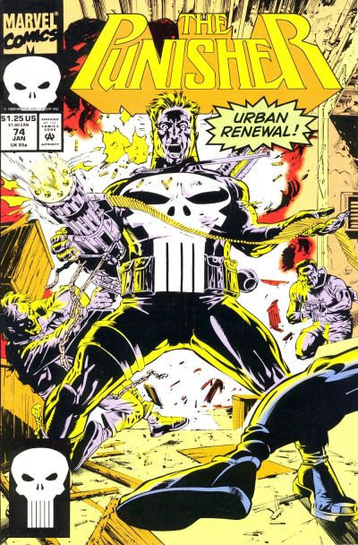 Cover for The Punisher (Marvel, 1987 series) #74