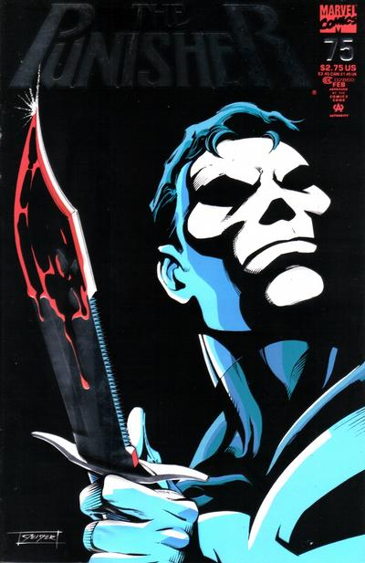 Cover for The Punisher (Marvel, 1987 series) #75