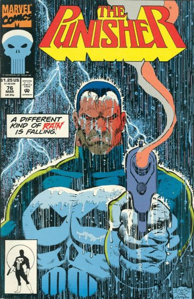 Cover for The Punisher (Marvel, 1987 series) #76
