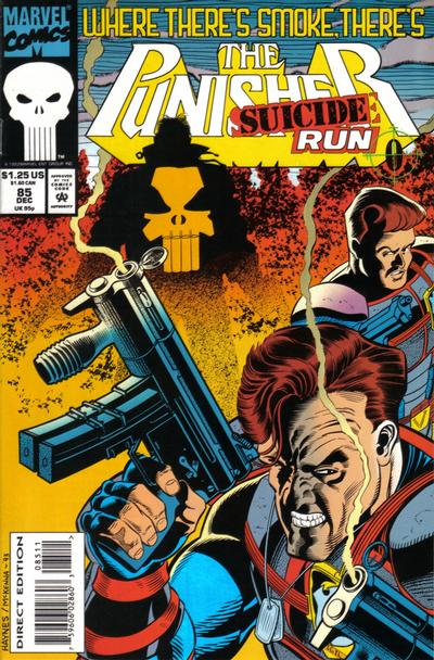 Cover for The Punisher (Marvel, 1987 series) #85 [Direct Edition]