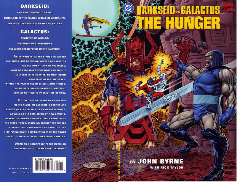 Cover for Darkseid vs. Galactus: The Hunger (DC / Marvel, 1995 series)