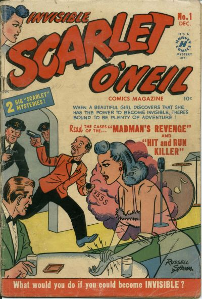 Cover for Invisible Scarlet O'Neil (Harvey, 1950 series) #1