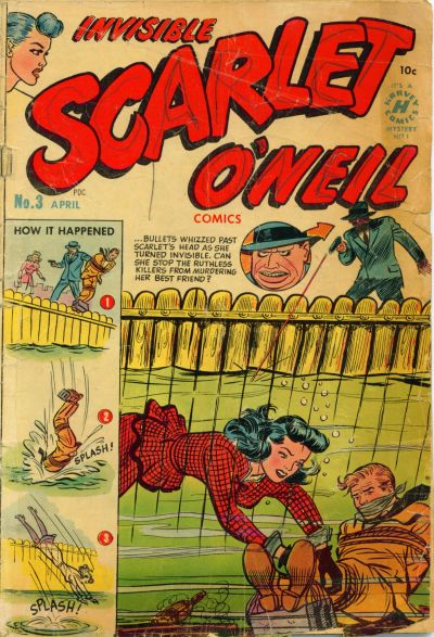 Cover for Invisible Scarlet O'Neil (Harvey, 1950 series) #3