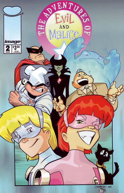 Cover for The Adventures of Evil and Malice (Image, 1999 series) #2