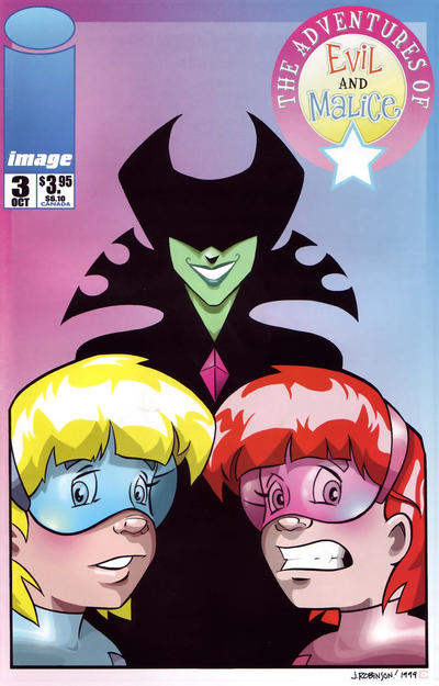 Cover for The Adventures of Evil and Malice (Image, 1999 series) #3