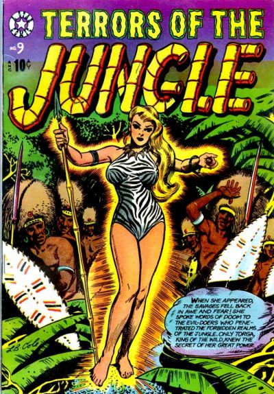 Cover for Terrors of the Jungle (Star Publications, 1953 series) #9