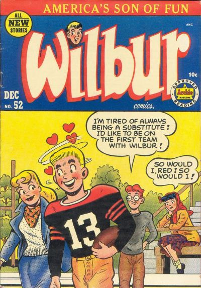 Cover for Wilbur Comics (Archie, 1944 series) #52