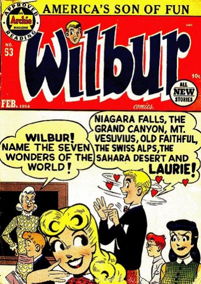 Cover for Wilbur Comics (Archie, 1944 series) #53
