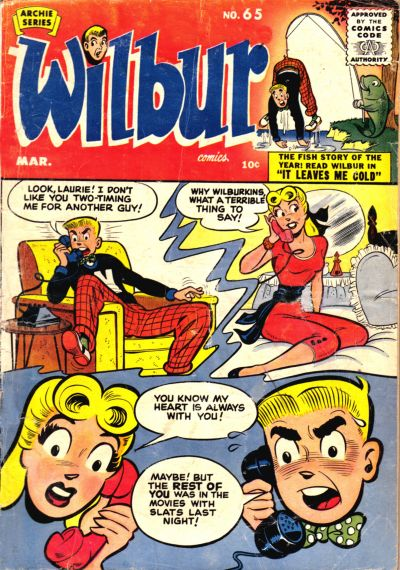 Cover for Wilbur Comics (Archie, 1944 series) #65