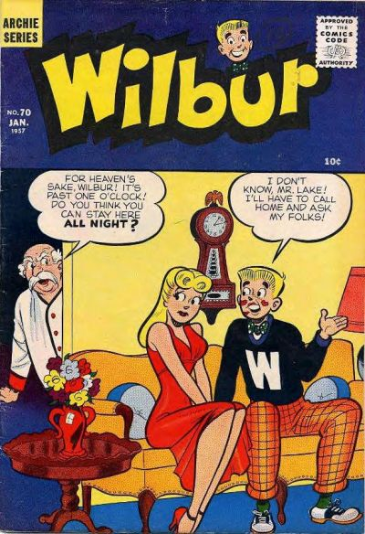 Cover for Wilbur Comics (Archie, 1944 series) #70