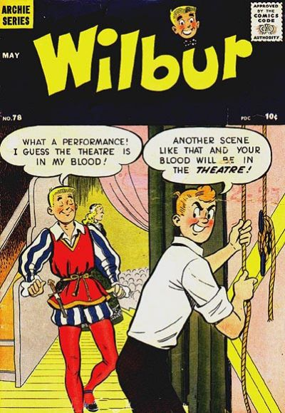Cover for Wilbur Comics (Archie, 1944 series) #78
