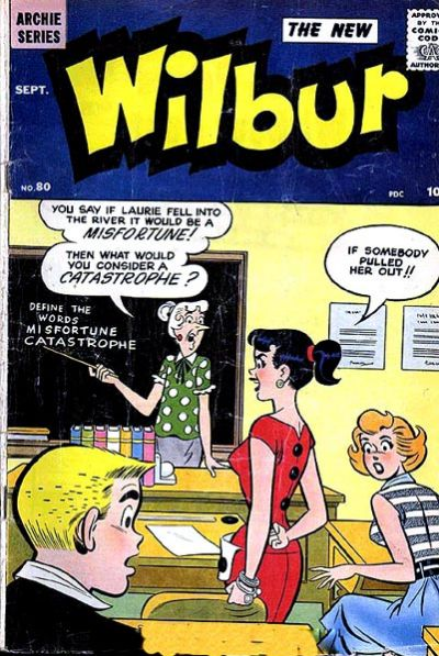 Cover for Wilbur Comics (Archie, 1944 series) #80