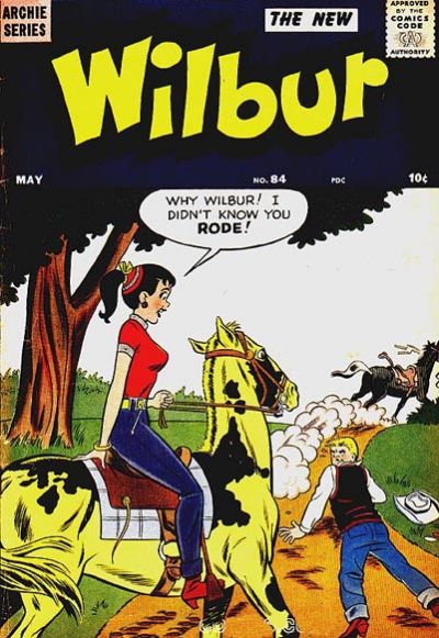 Cover for Wilbur Comics (Archie, 1944 series) #84