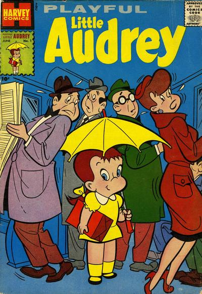 Cover for Playful Little Audrey (Harvey, 1957 series) #1