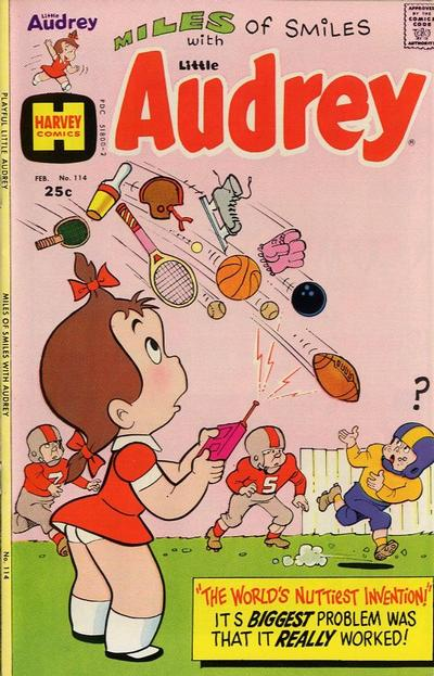 Cover for Playful Little Audrey (Harvey, 1957 series) #114