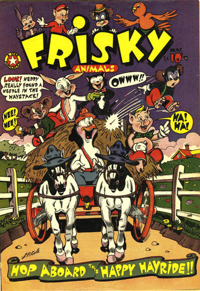 Cover for Frisky Animals (Star Publications, 1951 series) #47