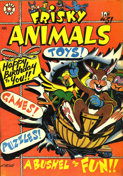 Cover for Frisky Animals (Star Publications, 1951 series) #51