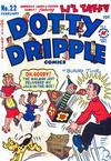 Cover for Dotty Dripple (Harvey, 1948 series) #22