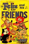 Cover for Felix the Cat and His Friends (Toby, 1954 series) #3