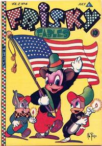Cover Thumbnail for Frisky Fables (Novelty / Premium / Curtis, 1945 series) #v2#4 [7]