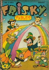 Cover Thumbnail for Frisky Fables (Novelty / Premium / Curtis, 1945 series) #v2#5 [8]