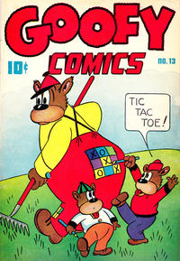 Cover Thumbnail for Goofy Comics (Pines, 1943 series) #13