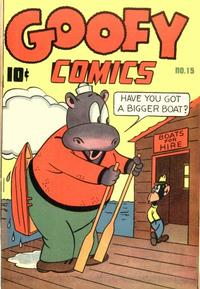 Cover Thumbnail for Goofy Comics (Pines, 1943 series) #15