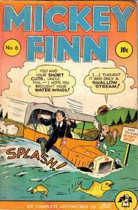 Cover Thumbnail for Mickey Finn (Columbia, 1943 series) #6