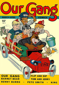Cover Thumbnail for Our Gang Comics (Dell, 1942 series) #4