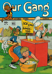 Cover Thumbnail for Our Gang Comics (Dell, 1942 series) #19