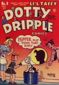 Cover Thumbnail for Dotty Dripple (Harvey, 1946 series) #8