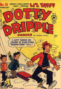 Cover Thumbnail for Dotty Dripple (Harvey, 1948 series) #16
